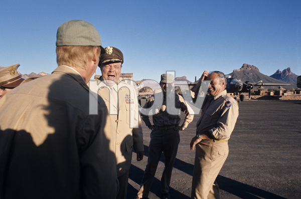 """Catch-22""Director Mike Nichols, Orson Welles, Buck Henry, Martin Balsam1969© 1978 Bob Willoughby - Image 9488_0085"