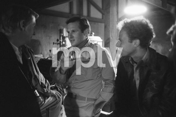 """Catch-22""Director Mike Nichols, Charles Grodin, Art Garfunkel1969© 1978 Bob Willoughby - Image 9488_0106"