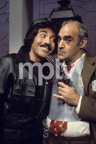 """""""Tony Orlando and Dawn""""Tony Orlando, Abe Vigoda1976Photo by Gabi Rona - Image 9497_0021"""