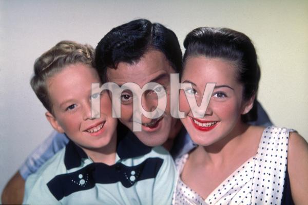 """The Danny Thomas Show""Sherry Jackson, Danny Thomas, Rusty Hamer1957 © 1978 Gene Howard - Image 9502_0010"