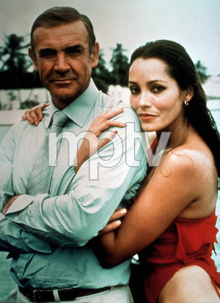 """Never Say Never Again,""Sean Connery, Barbara Carrera © 1983 UA / MPTV - Image 9504_0007"
