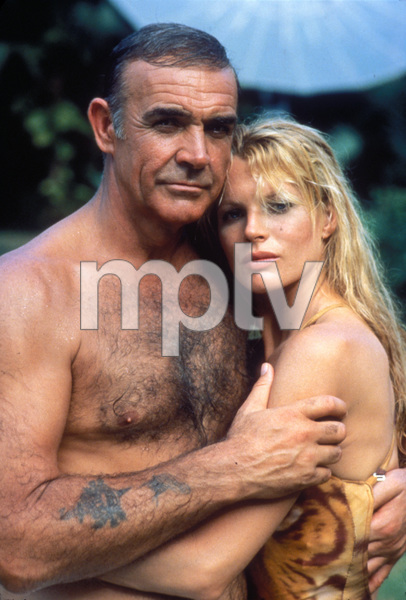 """Never Say Never Again""Sean Connery, Kim Basinger © 1983 Warner Brothers**I.V. - Image 9504_0009"