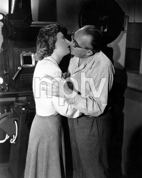 Barbara Stanwyck, Director Fritz Lang, CLASH BY NIGHT, 1952, RKO, I.V. - Image 9546_0028