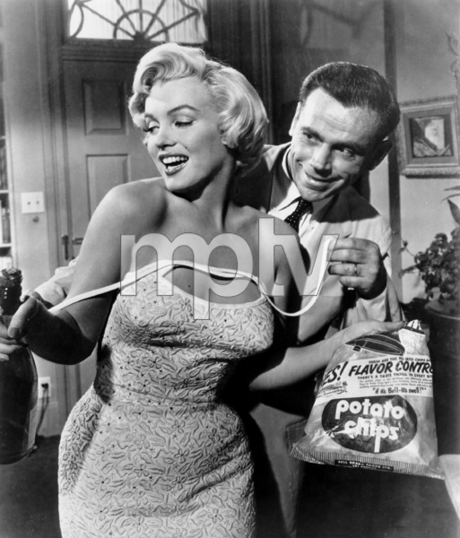 """""""Seven Year Itch, The""""Marilyn Monroe, Tom Ewell1955 / 20th Century FoxPhoto by Bill Thomas - Image 9554_0009"""