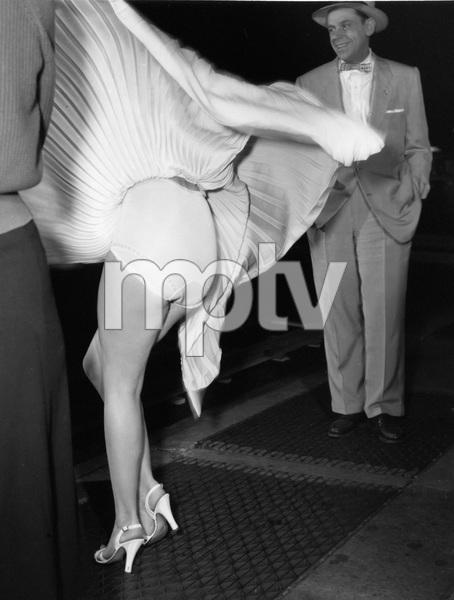 """The Seven Year Itch""Marilyn Monroe, Tom Ewell1955 20th Century Fox** I.V. - Image 9554_0050"