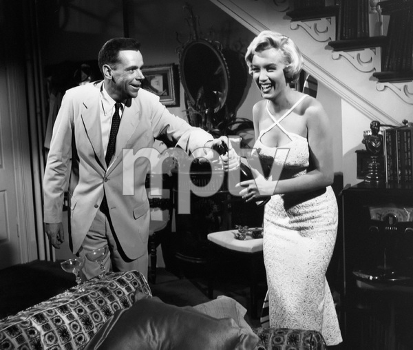 """The Seven Year Itch""Tom Ewell, Marilyn Monroe1955 20th Century Fox** I.V. - Image 9554_0053"