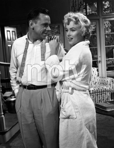 """The Seven Year Itch""Tom Ewell, Marilyn Monroe1955 20th Century Fox** I.V. - Image 9554_0058"