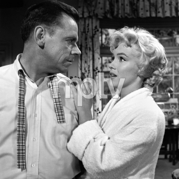 """The Seven Year Itch""Tom Ewell, Marilyn Monroe1955 20th Century Fox** I.V. - Image 9554_0066"