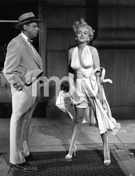 """The Seven Year Itch""Tom Ewell, Marilyn Monroe1955 20th Century Fox** I.V. - Image 9554_0070"