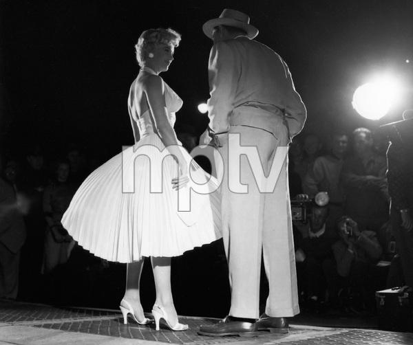 """The Seven Year Itch""Marilyn Monroe, Tom Ewell1955 20th Century Fox** I.V. - Image 9554_0082"