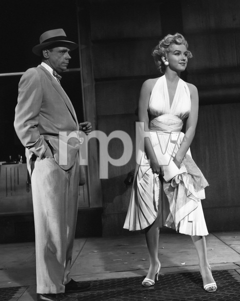 """The Seven Year Itch""Tom Ewell, Marilyn Monroe1955 20th Century Fox** I.V. - Image 9554_0083"