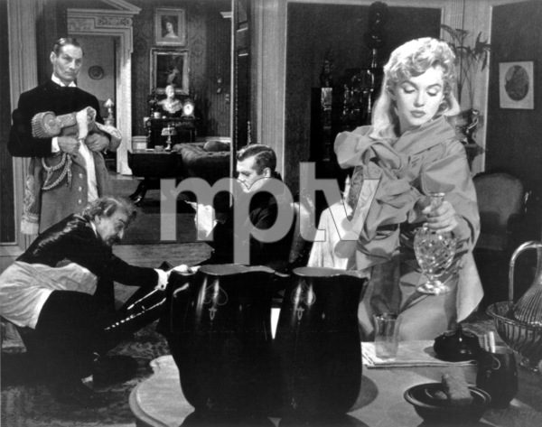 """""""Prince And The Showgirl, The""""Laurence Olivier, Marilyn Monroe1957 / Warner**R.C. - Image 9555_0018"""