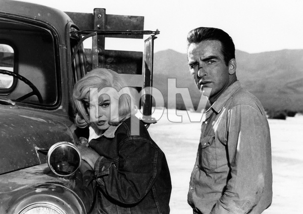"""""""The Misfits""""Marilyn Monroe, Montgomery Clift1961 MGM** I.V. - Image 9559_0083"""