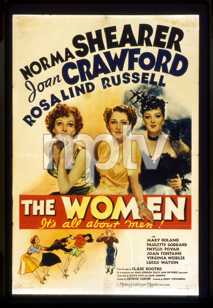 """The Women""Poster1939 MGM**I.V. - Image 9583_0026"