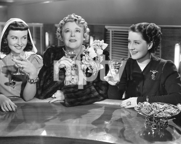 Norma Shearer, Paulette Goddard, Mary Boland, THE WOMEN, M-G-M, 1939, I.V. - Image 9583_0044