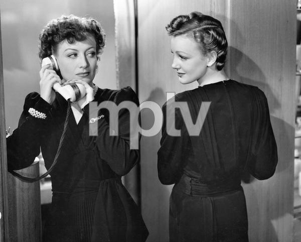Joan Crawford, Virginia Grey,  THE WOMEN, M-G-M, 1939, I.V. - Image 9583_0047