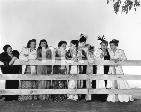 """""""The Women""""Lucile Watson, Phyllis Povah, Paulette Goddard, Joan Crawford, Norma Shearer, Rosalind Russell, Mary Boland, Joan Fontaine1939 MGM** B.L. - Image 9583_0058"""
