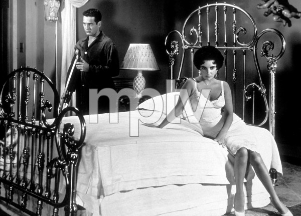 """Cat on a Hot Tin Roof""Elizabeth Taylor, Paul Newman1958 MGMMPTV - Image 9605_0001"