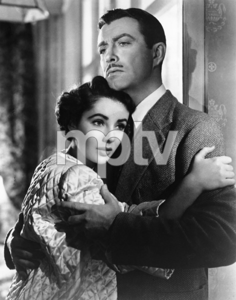 """Conspirator""Robert Taylor, Elizabeth Taylor1949 MGM** R.C. - Image 9607_0002"