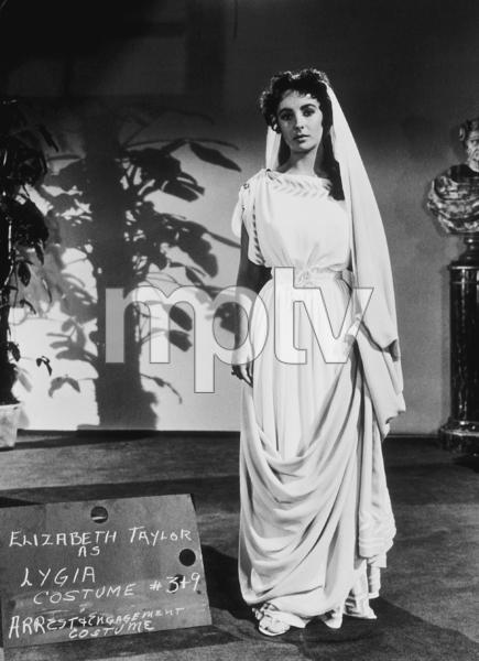 """Quo Vadis""Elizabeth Taylor screen Test1951 MGM**R.C.MPTV - Image 9615_0001"