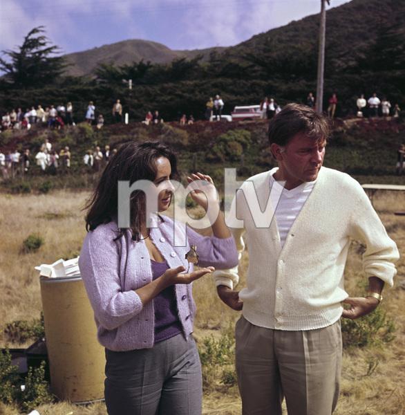 """The Sandpiper""Elizabeth Taylor, Richard Burton1965 MGM © 1978 Bernie Abramson - Image 9620_0024"