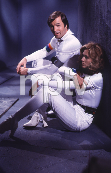"""Buck Rogers in the 25th Century""Gil Gerard, Erin Gray1980Photo by Bud Gray - Image 9641_0044"