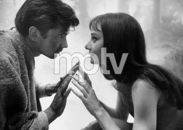 """""""Green Mansions""""Anthony Perkins, Audrey Hepburn1958 / MGM(c) 1978 Bob Willoughby - Image 9687_0115"""