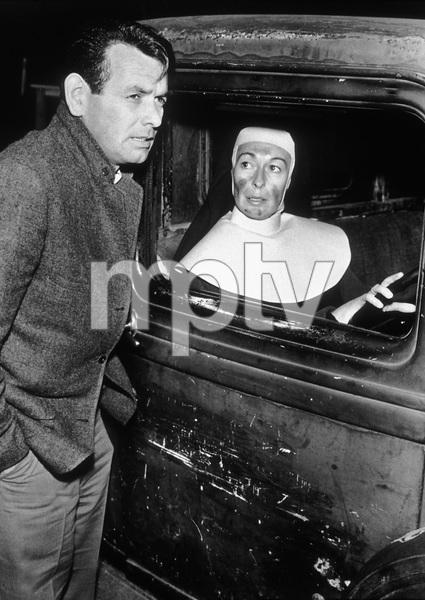 """""""The Fugitive""""David Janssen, Eileen Heckart1964 - Image 9699_0002"""