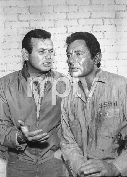 """The Fugitive""David Janssen, Paul Richards1965 - Image 9699_0003"