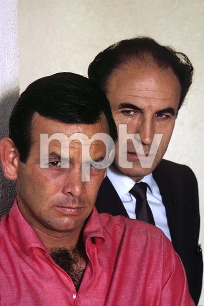 """""""The Fugitive""""David Janssen, Barry Morse1964© 1978 Gene Trindl - Image 9699_0032"""