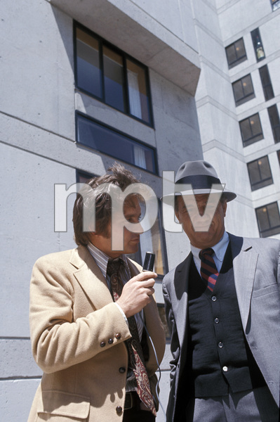 """The Streets of San Francisco""Michael Douglas, Karl Malden1973 © 1978 Gunther - Image 9724_0047"