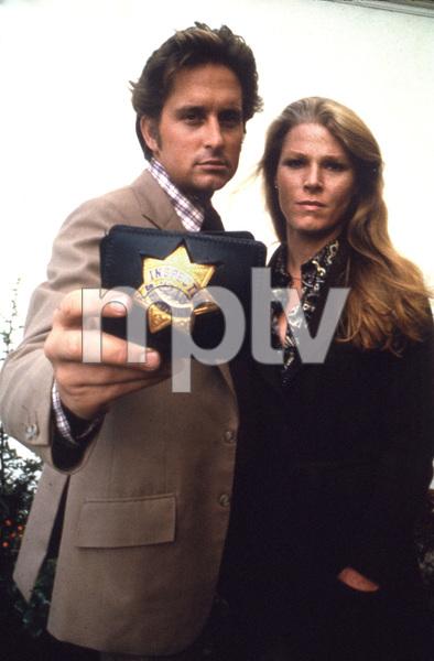 """The Streets of San Francisco""Michael Douglas & Mariette HartleyCirca 1972**I.V. - Image 9724_0080"