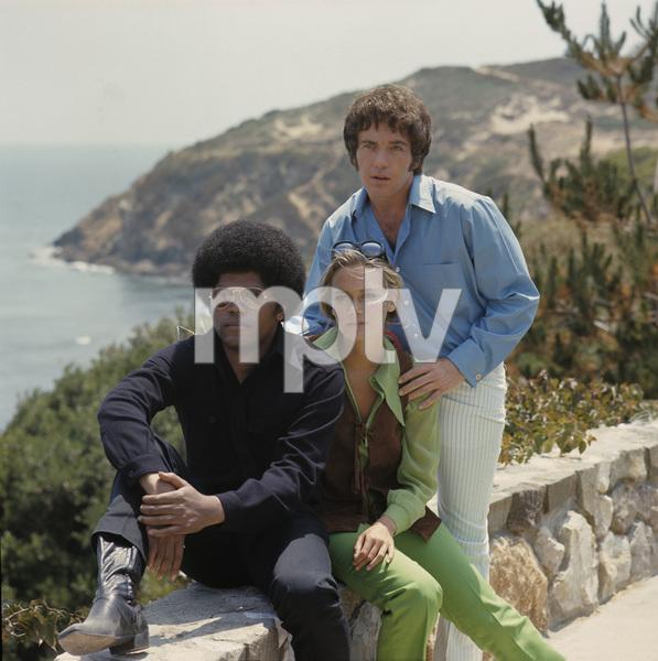 """The Mod Squad""Clarence Williams III, Peggy Lipton, Michael Cole1969 © 1978 Gene Trindl - Image 9731_0019"