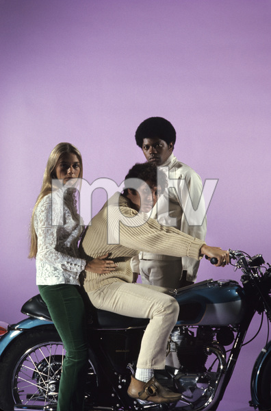 """The Mod Squad""Clarence Williams III, Peggy Lipton, Michael Cole1968 © 1978 Gene Trindl - Image 9731_0020"