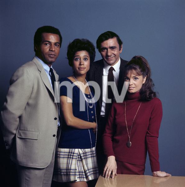 """Room 222"" Lloyd Haynes, Denise Nicholas, Michael Constantine, Karen Valentine 1970 © 1978 Gene Trindl - Image 9732_0026"