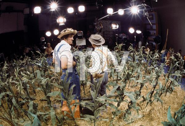"""Hee Haw""Buck Owens, Roy Clarkcirca 1973 © 1978 Marv Newton - Image 9742_0069"