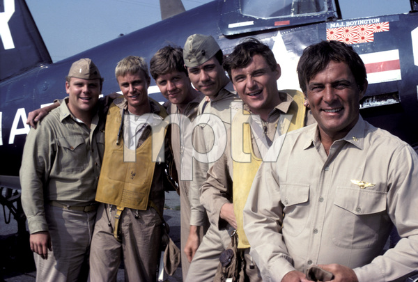 """Baa Baa Black Sheep""Dirk Blocker, W.K. Stratton, Robert Ginty, John Larroquette, James Whitmore Jr., Robert Conrad 1976** H.L. - Image 9751_0017"
