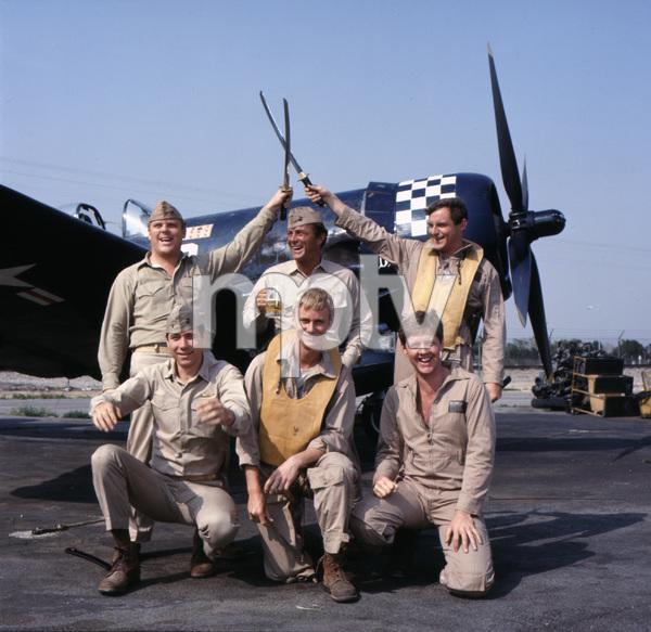 """Baa Baa Black Sheep""Dirk Blocker, Robert Conrad, James Whitmore Jr., John Larroquette, W.K. Stratton, Robert Ginty1976** H.L. - Image 9751_0022"