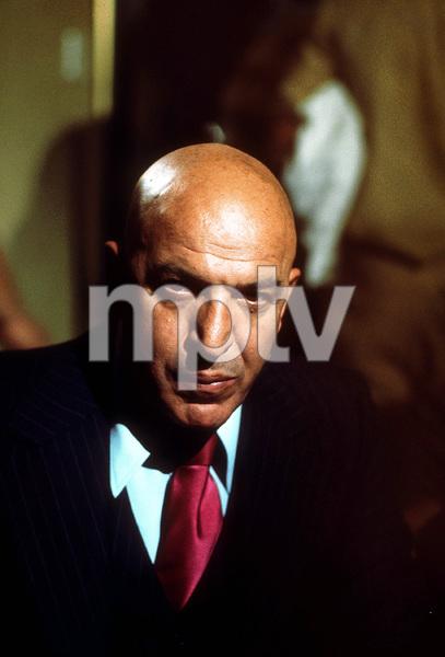 """""""Kojak""""Telly Savalas1974 CBSPhoto by Bud GrayMPTV - Image 9753_0008"""