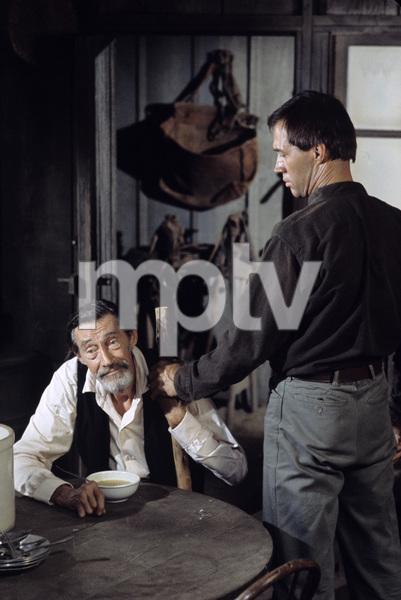 """Kung Fu""John Carradine, David Carradinecirca 1974** H.L. - Image 9755_0038"