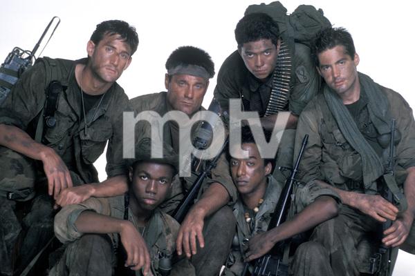 """Tour of Duty""Terence Knox, Ramon Franco, Tony Becker, Miguel A. Nunez Jr.1987 © 1987 Mario Casilli - Image 9798_0011"