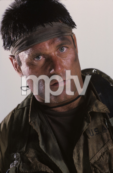 """Tour of Duty"" Terence Knox 1987 © 1987 Mario Casilli - Image 9798_0012"