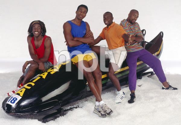 """Cool Runnings""Leon, Doug E. Doug, Malik Yoba, Rawle D. Lewis1993 © 1993 Bobby Holland - Image 9857_0022"