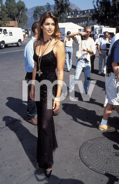 """MTV Video Music Awards""Cindy Crawford1993 / Universal Amphitheatre / Los Angeles, CA © 1993 Pablo Grosby - Image 9875_0005"