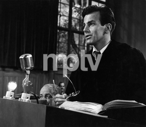 """""""Judgment at Nuremberg""""Maximilian Schell1961 United ArtistsPhoto by Al St. Hilaire - Image 9892_0003"""