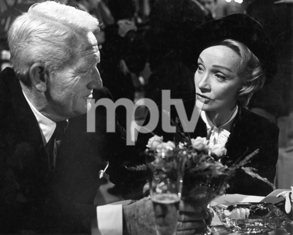 """""""Judgment at Nuremberg""""Spencer Tracy, Marlene Dietrich1961 U/APhoto by Al St. Hilaire - Image 9892_0019"""