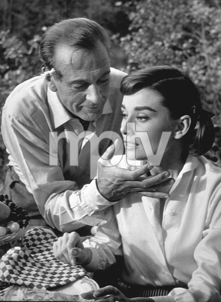 """Love In The Afternoon"" Gary Cooper and Audrey Hepburn / 1957Photo By Al St. Hilaire - Image 9902_0005"