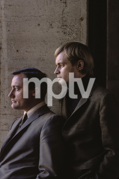 """The Man from U.N.C.L.E."" Robert Vaughn, David McCallum 1965 © 1978 Gene Trindl - Image 9948_0029"