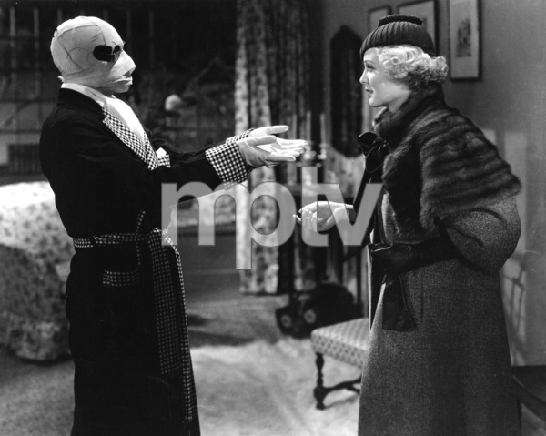 """The Invisible Man""Claude Rains & Gloria Stuart1930 Universal**I.V. - Image 9956_0012"