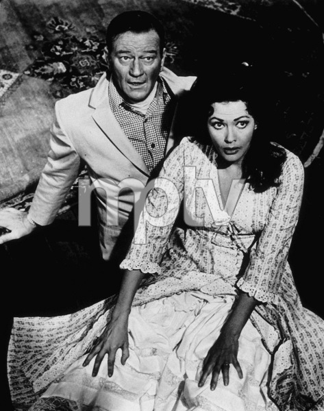 """""""McLintock""""John Wayne and Maureen O"""